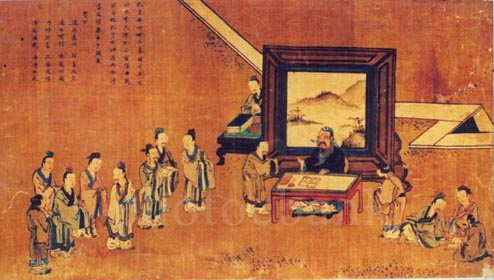 """先秦诸子百家的背景,教材说""""春秋战国时期,社会由奴隶制向封建制图片"""